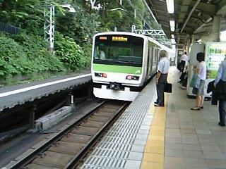 原宿駅にて